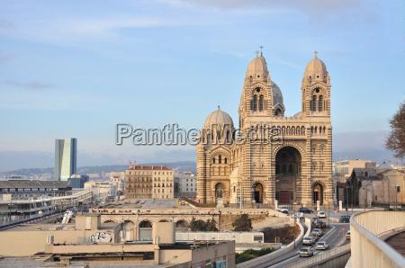 cathedrale de la major marseille frankreich