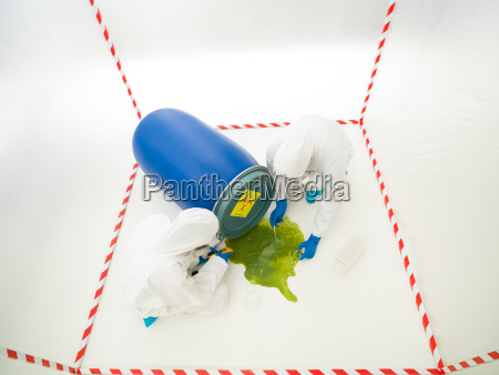 biohazard unfall