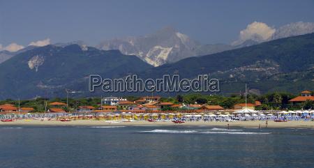 tuscany beach of forte de