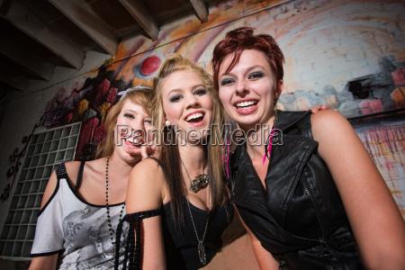 cute girls laughing