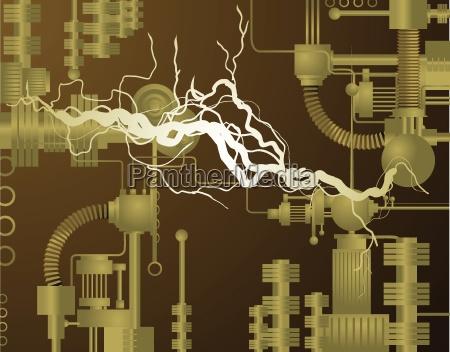 wissenschaft energie strom elektrizitaet skurril kabel