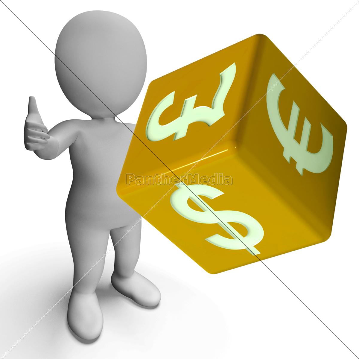 dollar, pound, and, euro, symbols, on - 9586764