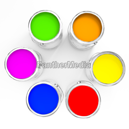 color paint background