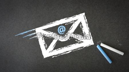 chalk envelope