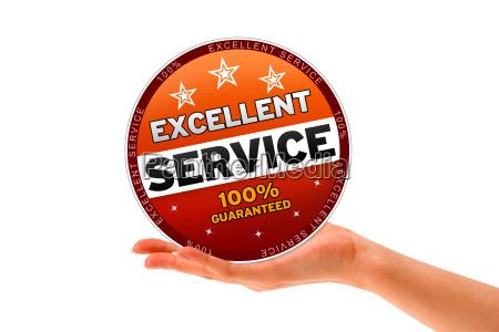 exzellenter service