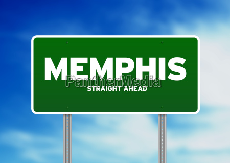 memphis tennessee highway sign