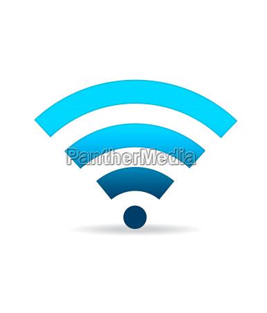 gruen wifi zeichen