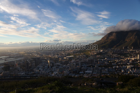 Tafelberg, Kapstadt, Südafrika, Landschaft, Aussicht, Panorama - 9651974