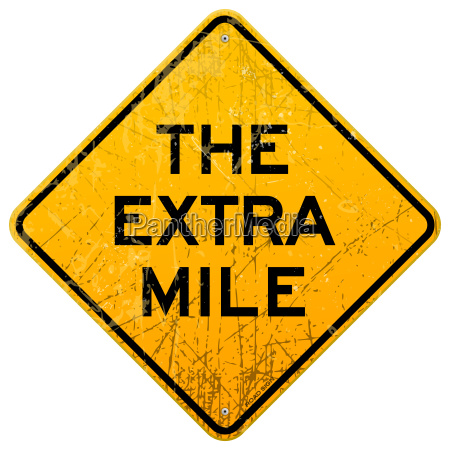 the extra mile