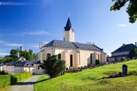 kirche, bad, lobenstein - 9675804