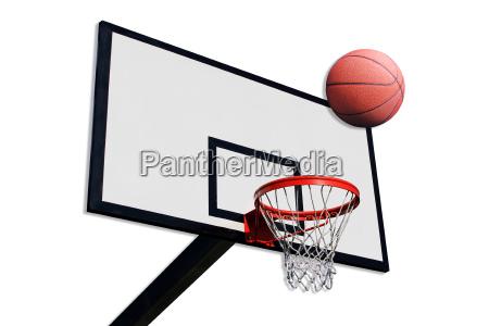 eine gruppe von basketball