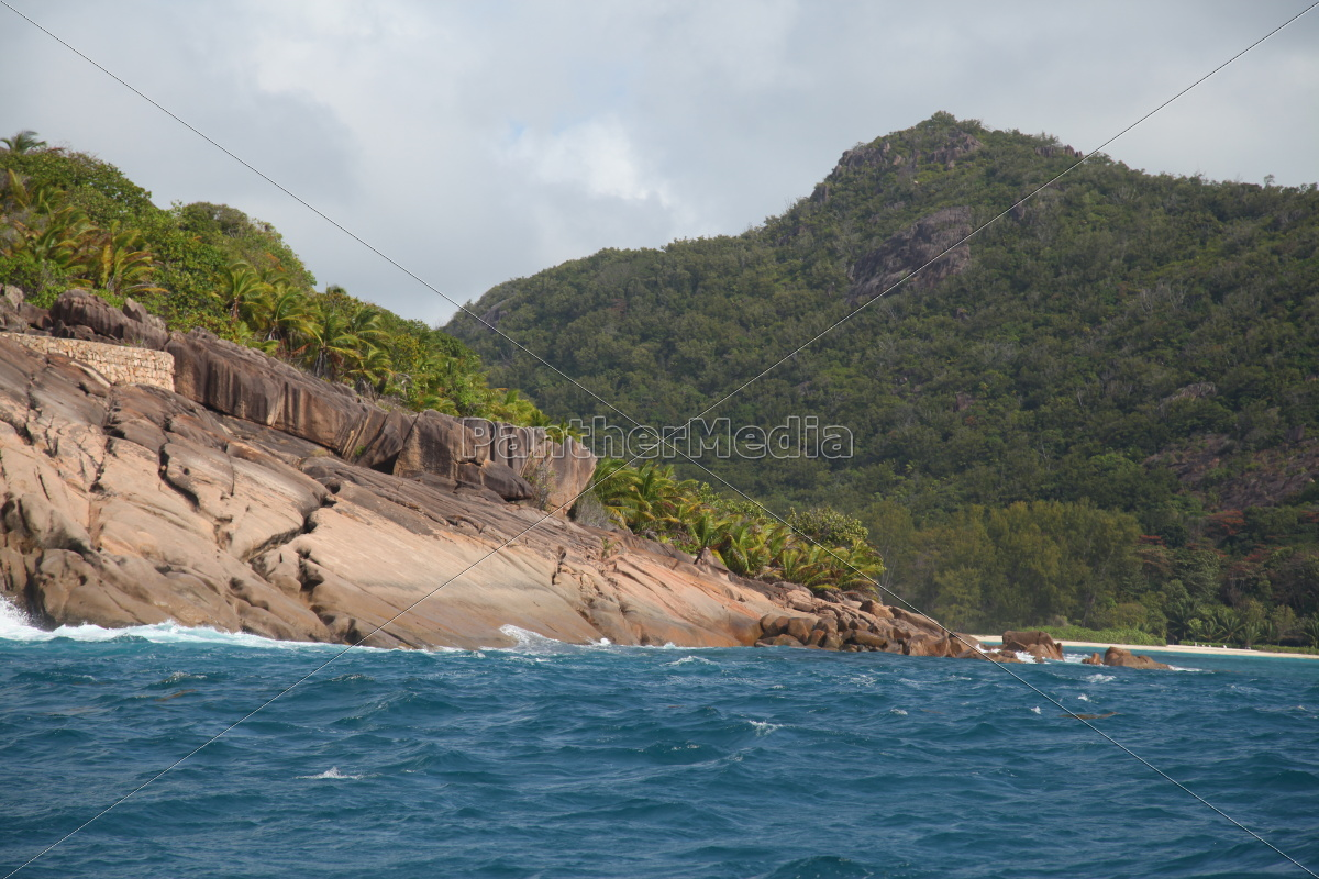 La Digue, Lagune, Riff, Sand, Seychellen, Strand - 9680834
