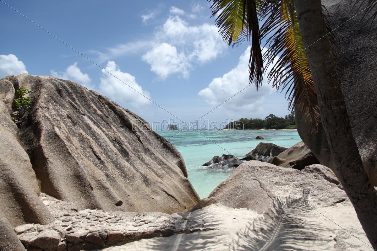 La Digue, Lagune, Riff, Sand, Seychellen, Strand - 9680914