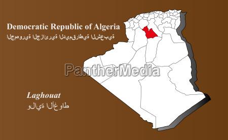 algerien laghouat hervorgehoben
