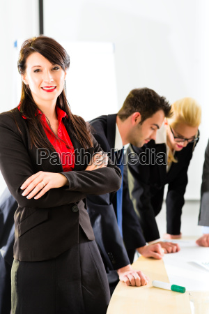 business people in the office