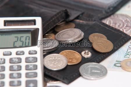 polnisches geld zloty banknoten muenzen
