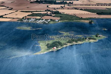 fehmarn warder aerial view