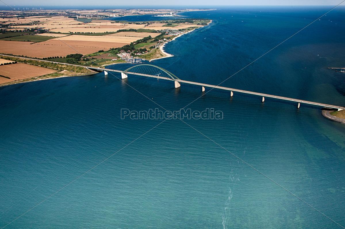 fehmarnsundbrücke, -, fehmarn, -, luftaufnahme - 9722106