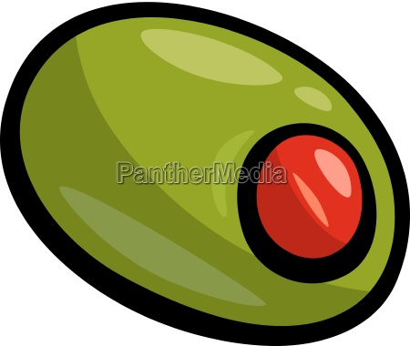 olive clip art cartoon illustration