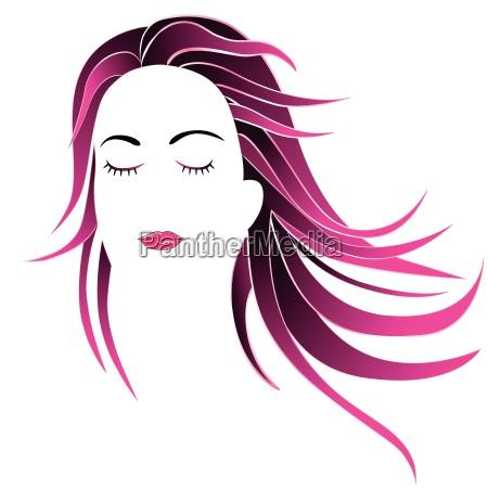 frau gesicht kosmetik kosmetika durchhalten angesicht