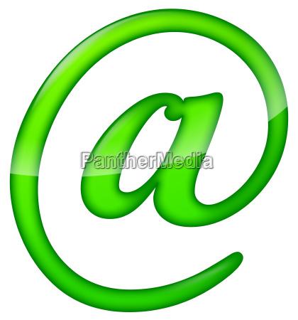 green at sign
