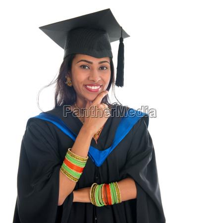 indian absolvent student denken