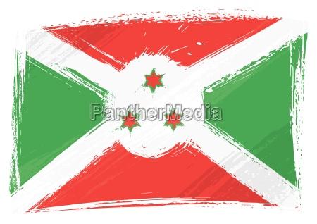 burundi-flagge - 9787418