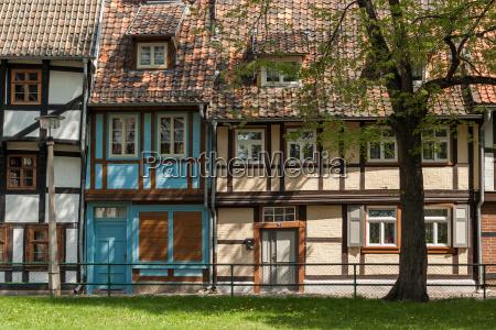 welterbestadt quedlinburg im fruehjahr