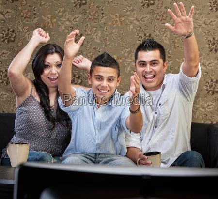 latino familie feiern