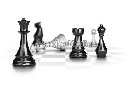 checkmate geschaeftsstrategiekonzept