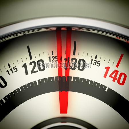 overweight bathroom scale