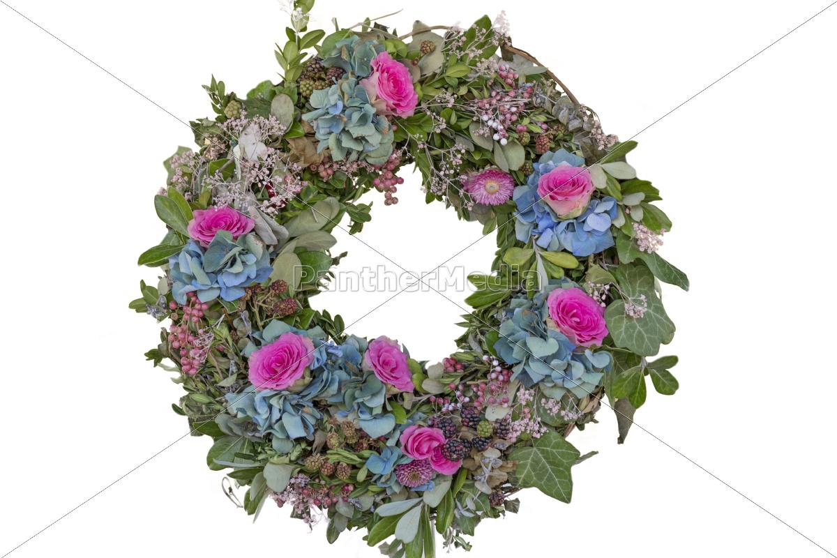 Blumenkranz ohne hintergrund