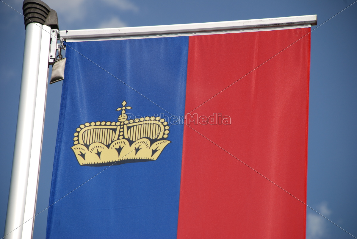 fahne, banner, flagge, fürstentum, liechtenstein, - 9825408