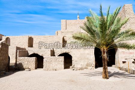 hof des mittelalterlichen mamluks fort in