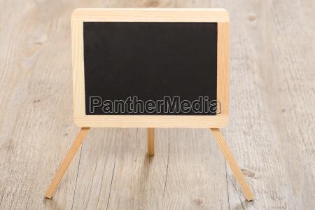 black slate from school