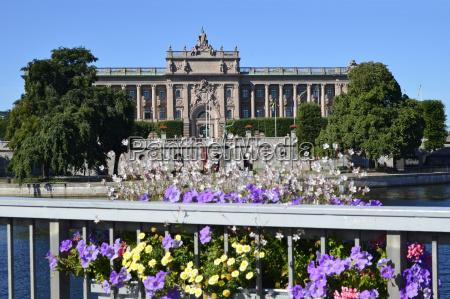 schwedischer reichstag stockholm