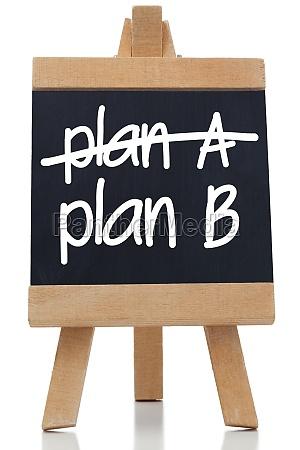 plan a und plan b an