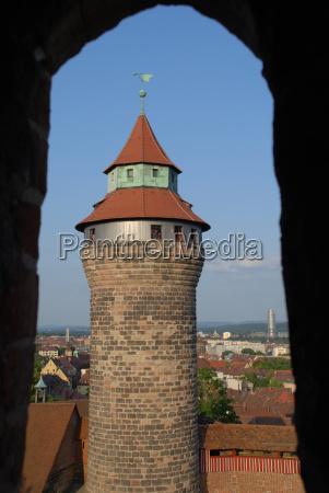 der, simwellturm, in, nürnberg - 9931470