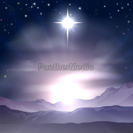 christmas star of bethlehem nativity