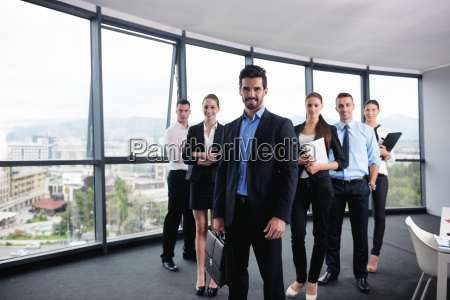 business people in a meeting at