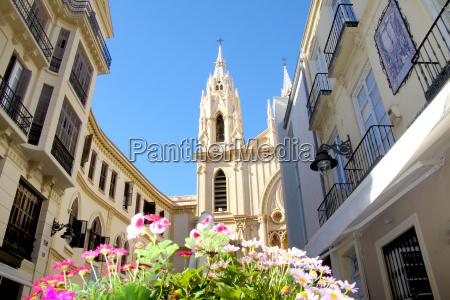 santo christo kirche in malaga