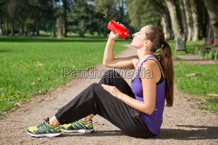 break to drink while playing sports