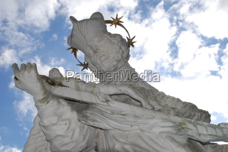 saint nepomuk bridge saint halo cross