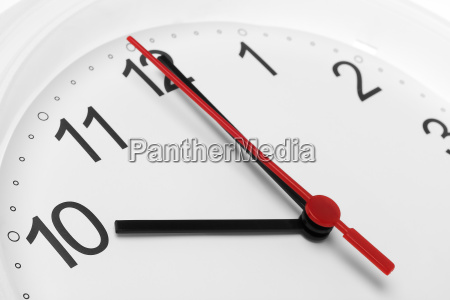 clock showing business working time