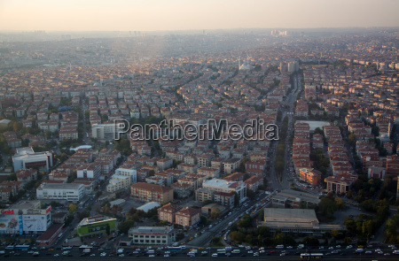 aerial perspective aerial photograph turkey istanbul