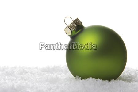 weihnachten weihnachtskugel gruen