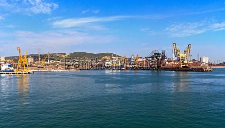 industrie industriell verkehr verkehrswesen maritim hafen