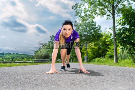fitness sport frau trainieren laufen joggen