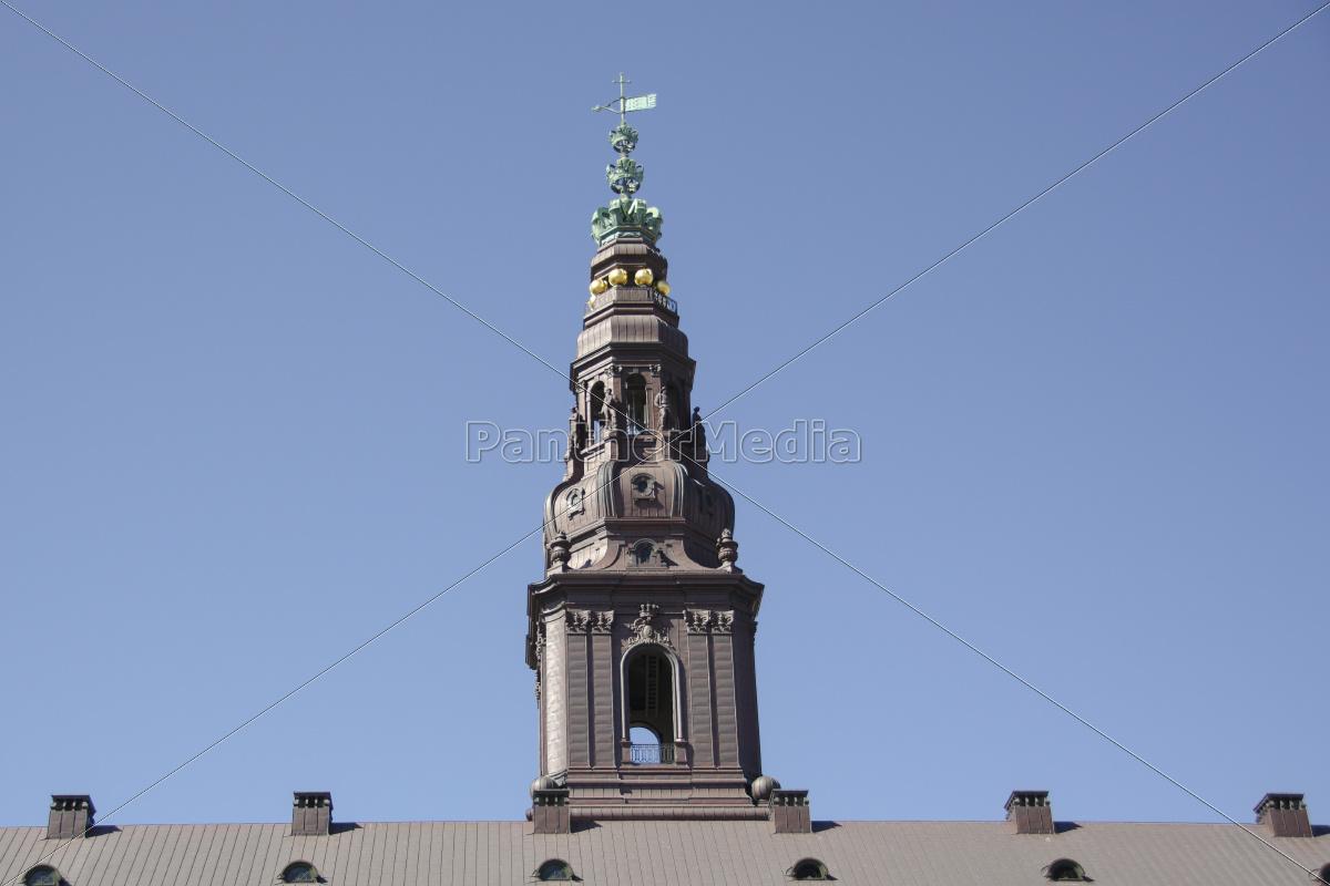 turm, von, schloss, christiansborg, in, kopenhagen - 10106333