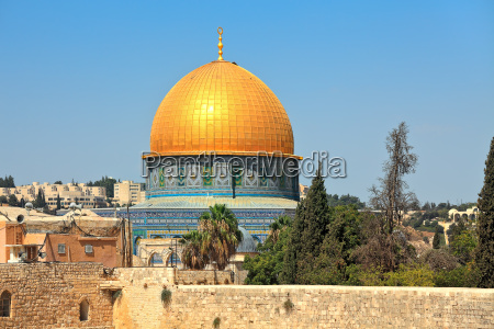 view of golden dome of famous